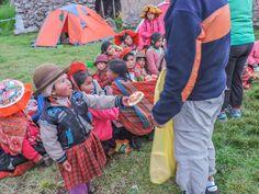 The Lares Trek to Machu Picchu Alpaca Expeditions Volunteers