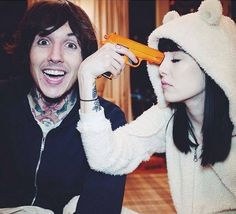 Hannah Snowdon & oli sykes are perfect together