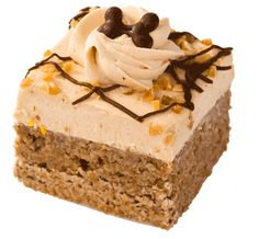 A wheat flour, peanut-flavored cake topped with peanut frosting and chopped peanuts that are safe for dogs. Check out our website for more! Three Dog Bakery, Dream Bars, Brownies, Cheesecake, Vanilla Cake, Treats, Desserts, Food, Sweet Like Candy