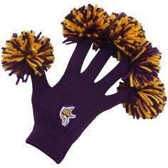 Minnesota Vikings Purple Spirit Fingerz-soooo cool but I think I can DIY em!