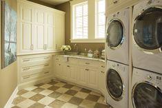 Locust Hills Drive   Martha O'Hara Interiors   - Luxurious Laundry Room -
