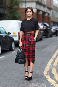All of the biggest trends for Spring 2014 street style. Click for more!