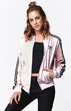 Pastel Rose Track Jacket