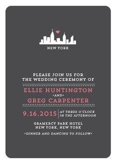 Wedding Invitations - Urban Love