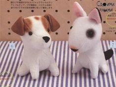 Японские собачки: выкройки