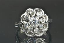 .90 Carat Old European Cut Diamond Ring