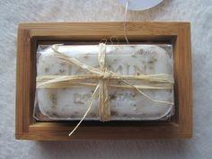 """""""Porte savon en bambou & son savon végétal"""" Une touche de naturel dans votre salle de bain ! www.lady-lorcy.com"""