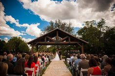Our outside Ceremony Site! Book a tour with us and see for yourself the beauty of THE SPRINGS in Georgetown.