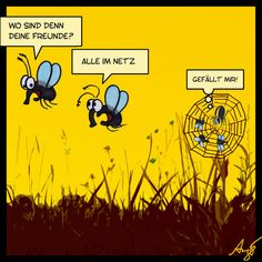 im Netz - Cartoon von Anjo (http://de.toonpool.com/artists/Anjo_1146)