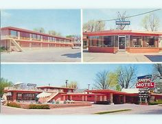 Unused Pre 1980 Sands Motel Restaurant ft Fort Smith Arkansas AR U4645 12   eBay