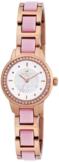 Radley Ladies White Dial Rose Gold/Pink Watch RY4054