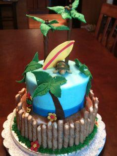 hawaiian surf cake