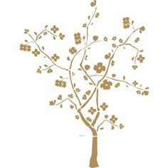 Cherry Blossom Applique -- so you may add a bit of charm to any nursery wall!