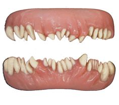 Invasion Teeth FX from Tinsley Transfers are brand new and available now