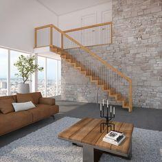 holz au entreppe selber bauen mit oder ohne gel nder. Black Bedroom Furniture Sets. Home Design Ideas