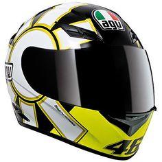 AGV-K3-Rossi-Gothic-Helmet-Black