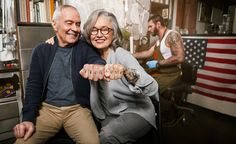 Tattoo Seniors   © Dale May - All Rights Reserved Dale May Photography | New York   Advertising, Commercial, Conceptual, Celebrity, Entertainment, Editorial, Music, Medical, Pharmaceutical, Portrait, Studio, Location, Digital, Retouching, Composite Work, Video, Fine Art