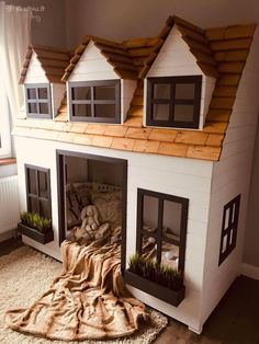 Cnc Woodworking, Cool Woodworking Projects, Wood Projects, Firewood, Wood Crafts, Cabin, House Styles, Building, Instagram