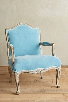 Be still my heart of hearts. SWOONING! Viola Occasional Chair - anthropologie.com