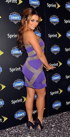 Aubrey O'Day Photos: NASCAR Sprint Cup Series Awards Red Carpet