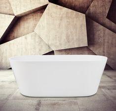 Alterna badkar Ovalt 1780 ett designbadkar hos Stonefactory.se Pop Up, Bath Mat, Bathtub, Ben, Design, Home Decor, Bathrooms, Tips, Products