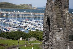 A View Of Howth Harbour From St. Mary's Church (Ireland)