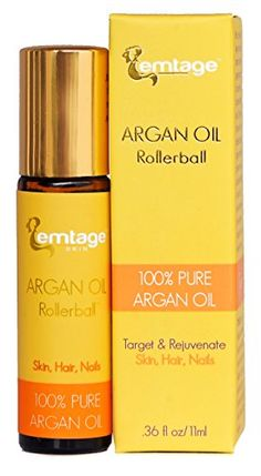Argan Oil Rollerball - Target and Rejuvenate Hair, Face, Skin, Nails, Beard fl oz. Organic Virgin Moroccan Argan Oil in a Roll-on. Anti-Aging Beauty Secret ** See this great image : Travel Hair care Pure Argan Oil, Argan Oil Hair, Organic Argan Oil, Argan Oil Treatment, Oil Treatment For Hair, Cosmetics Market, Dry Nails, Hair Skin Nails, Moroccan Oil