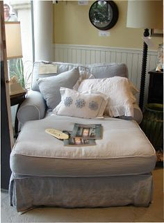 1000 ideas about overstuffed chairs on pinterest for Big comfy chaise lounge