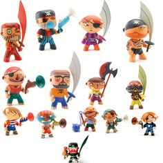 Pirates - Djeco Arty Toys Collection (selection of 1)