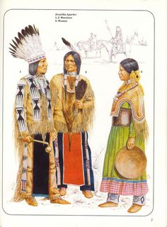 Jicarillas by richard hook Native American Warrior, Native American Artists, Native American History, Native American Indians, Native Drawings, Apache Indian, Red Indian, Trail Of Tears, Indian Tribes