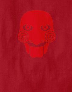¿Quieres jugar un juego? Elige tu serial killer favorito en pongobongo.es #jigsaw #camisetas #pongobongo