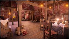 Fantasy Medieval House Interior