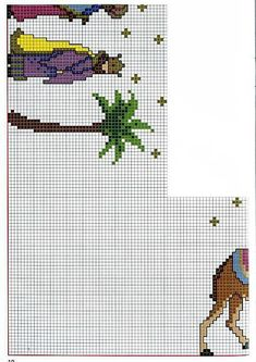 Xmas Cross Stitch, Cross Stitch Borders, Cross Stitch Flowers, Cross Stitch Designs, Cross Stitch Patterns, Christmas Nativity, Christmas Cross, Christmas Embroidery, Craft Materials