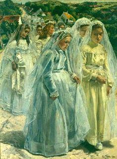 Leon Frederic (1856 – 1940, Belgian)