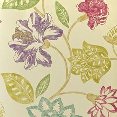 Sanderson - Traditional to contemporary, high quality designer fabrics and wallpapers | Products | British/UK Fabric and Wallpapers | Calliope (DCLACA106) | Classic Collection Wallpapers 2