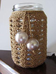 bebacrochet: Tutorial- Copri-lanterne crochet