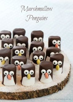 Marshmallow Penguins – Fun Food Tutorial