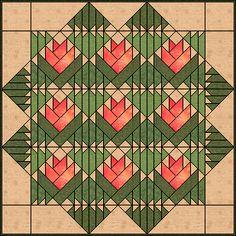 Desert Flower quilt - Quilters Cache