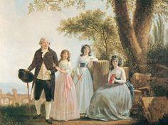 1790er, SABLET. François Jean : Portrait de famille