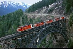 RailPictures.Net Photo: CP 5760 Canadian Pacific Railway EMD SD40-2 at Rogers Pass, British Columbia, Canada by Bill Edgar