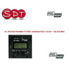 PL-760 RICETRASMETTITORE AERONAUTICO 118.00 ~ 136.975 MHz - S.D.T. srl Unipersonale