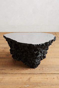 Lava Stone Coffee Table - anthropologie.com
