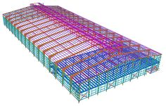 are being preferred over conventional buildings for industrial construction due to its fast construction. is leading Pre Engineered Building drafter in diverse steel building industries. Steel Building Cost, Building Costs, Building Systems, Building Structure, Shop Buildings, Steel Buildings, Architecture Details, Modern Architecture, Rebar Detailing