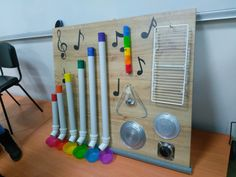 Sorting Activities, Activities For Kids, Crafts For Kids, Instrument Craft, Homemade Musical Instruments, Music Wall, Fathers Day Crafts, Good Old, Art School