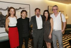 The Related Group Co-Hosted VIP Event with Whitewall Magazine and Perrin Paris 1893 at Marea During Art Week. | MetroCitizen Magazine. Carmen Casadella, artist Riccardo De Marchi, Jorge Perez, Darlene Boytell Perez and artist Markus Linnenbrink.