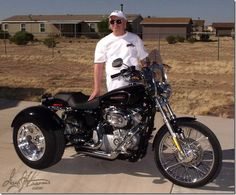 Motorcycle trike picture of a 2009 Harley-Davidson Sportster XL883C w/Trike Conversion