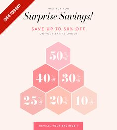"StyleMint - ""Surprise Savings: Reveal Your Savings"""