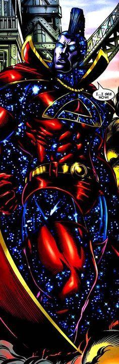 captain universe gladiator