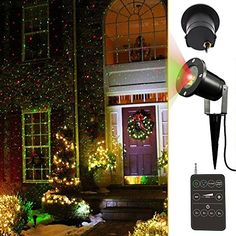 Purchase for Noza Tec LED Night Light Projector Lamp Colorful Star Light Bedside Lights Landscape Projector Holiday Landscape Light with Wireless Remote Control for Christmas Gifts Idea Deal Outdoor Christmas Projector, Laser Christmas Lights, Christmas Light Show, Decorating With Christmas Lights, Holiday Lights, Outdoor Projector, Christmas Gifts, Xmas Lights, Night Light Projector