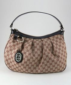 Take a look at this Beige & Brown Medium 'GG' Logo Hobo by Gucci on #zulily today!